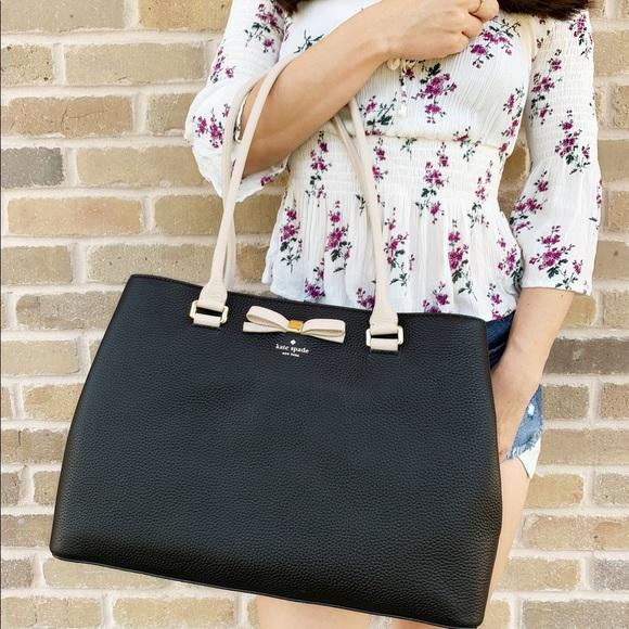 kate spade Handbags - Gaby'sBags👜💕-Kate spade large tote black